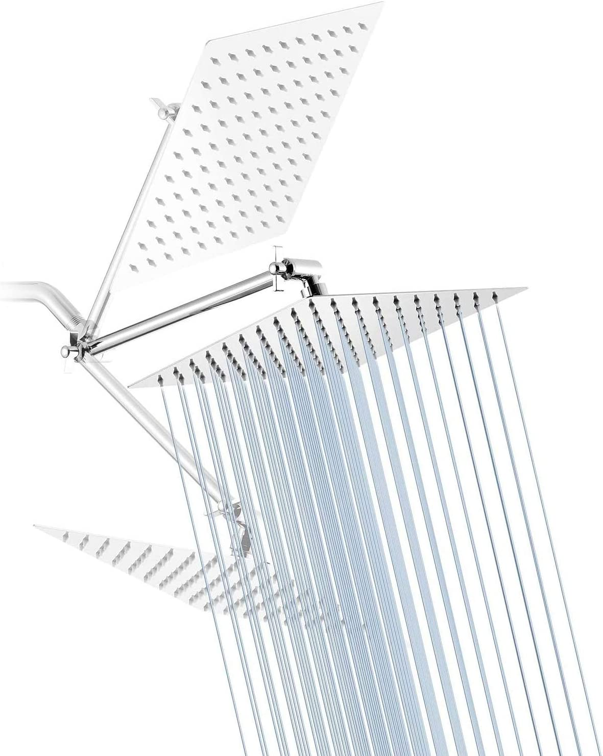 Rain Shower Head YBlucklly 8 Showerhead High material Inches Square with Nippon regular agency