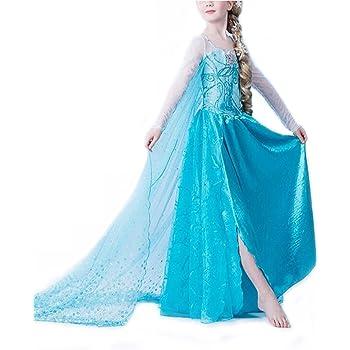 Nice Sport – Disfraz de la princesa Elsa de Frozen, disfraz para ...