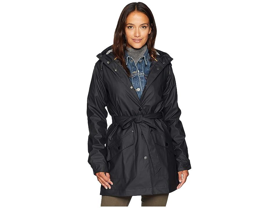 Helly Hansen Kirkwall Rain Coat (Black) Girl