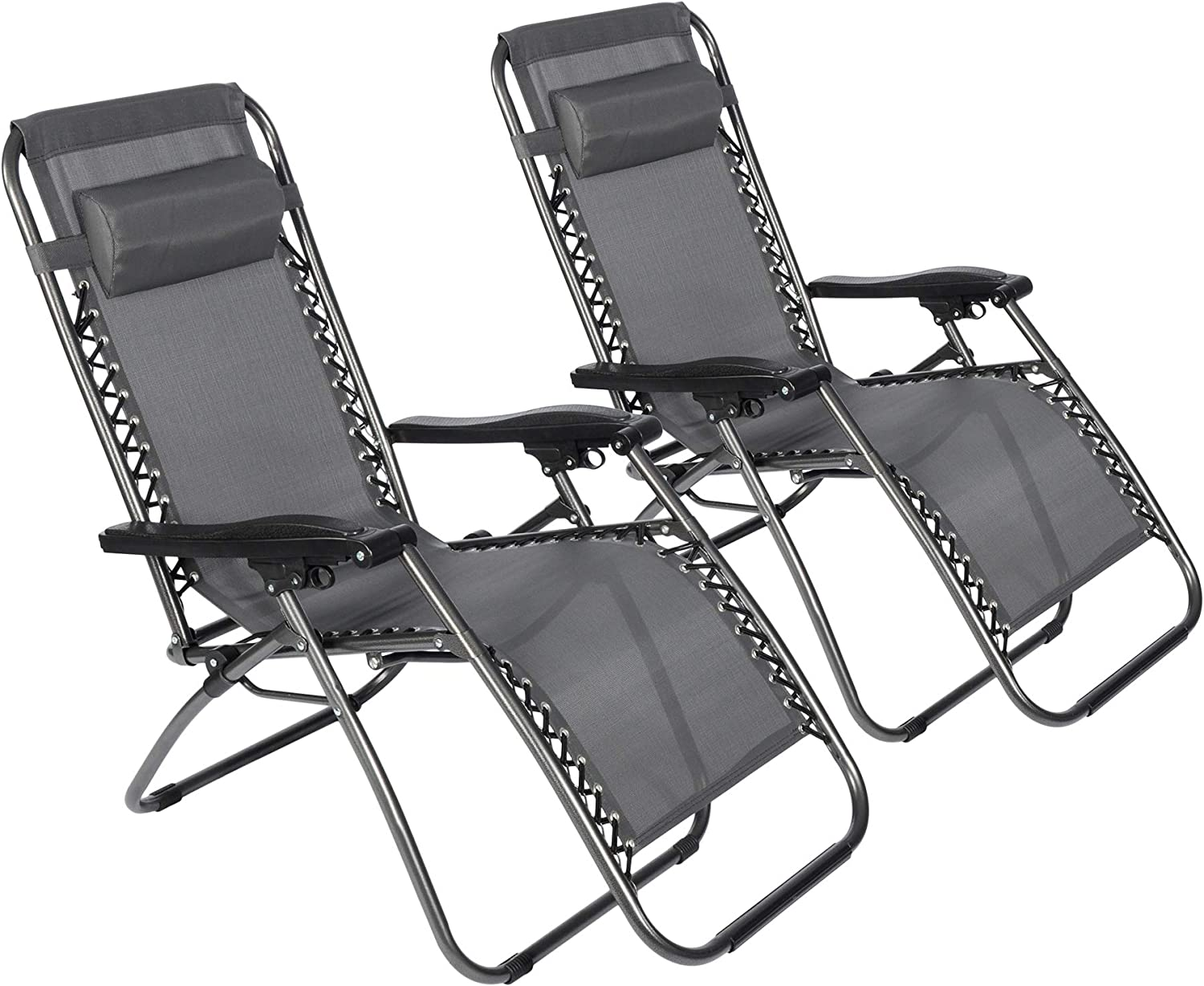 Popular standard LUCKYERMORE Zero Special price Gravity Chair 2-Pack Chairs Outdoor Lawn Patio