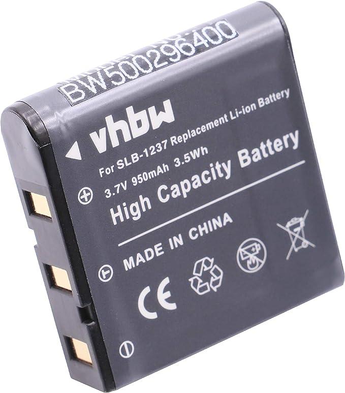Vhbw 2x Li Ion Akku Set 950mah Für Kamera Samsung Kamera