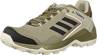 حذاء المشي لمسافات طويلة Terrex EASTRAIL GTX للنساء من أديداس خارجي/أسود/برتقالي شفاف 11 M US