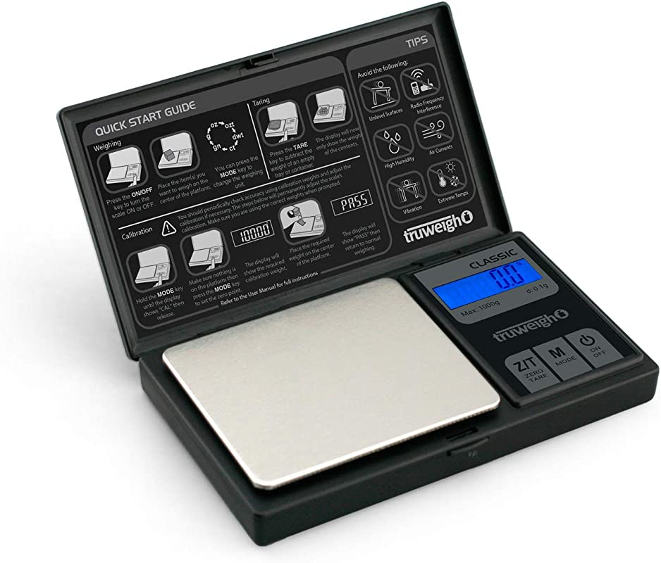 CLASSIC Digital Mini Scale 1000g X 0 1g Black