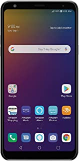 LG Stylo 5 with Alexa Push-to-Talk – Unlocked – 32 GB – Silvery White (US Warranty)