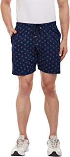 VIMAL JONNEY Navy Blue Printed Shorts for Men-D11_PRT_NO.8-P