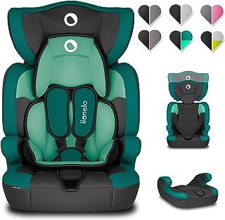 LIONELO Levi One autostoel 42 x 45 x 68 cm voor kinderen 9-36 kg, 6-weg rugleuningverstelling, 5-punts veiligheidsgordels,...