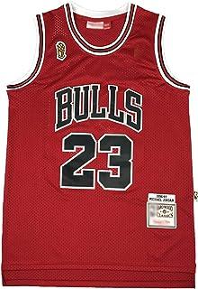 ZXZXING Short de Basket-Ball pour Hommes pour Plusieurs /équipes Chicago Bulls Miami Heat Los Angeles Lakers Short /à Motif r/étro avec Puce