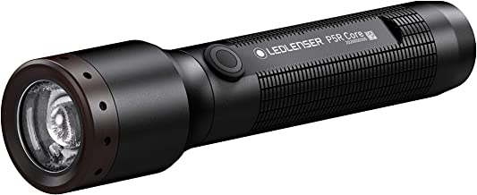 Ledlenser - P5R Core Rechargeable Torch, Lightweight, 500 Lumens, Attachable Clip, Magnetic Charge System, Flex Sealing Te...