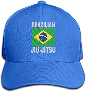 Unisex Brazilian Jiu Jitsu Denim Fabric Baseball Hat, Adjustable Dad Hat