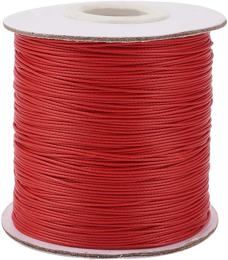FASHEWELRY Portland Mall 185Yards 0.5mm Waxed Polyester Cord Ranking TOP7 St Beading Thread