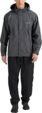 Ultrasport Men's Cancale Trousers Plus Outdoor Jacket Set