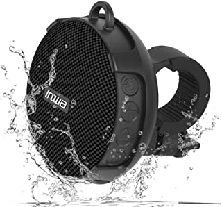 UISI Portable Bluetooth Speaker for Bike,IPX7 Waterproof Shower Bluetooth Speaker with HD Sound,Support TF Card,Wireless B...