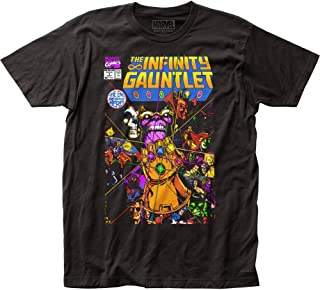 Infinity Gauntlet Mens T-Shirt - Classic Perez Issue 1 Full Color Image