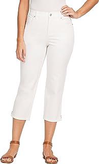 GLORIA VANDERBILT womens Petite Amanda Capri Jeans Jeans