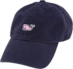 Vineyard vines whale logo baseball hat flamingo  916c32ce7640