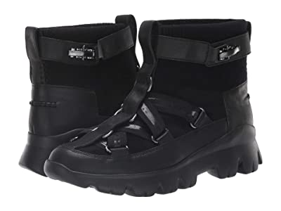 UGG Lakes Lights Sneaker (Black) Women