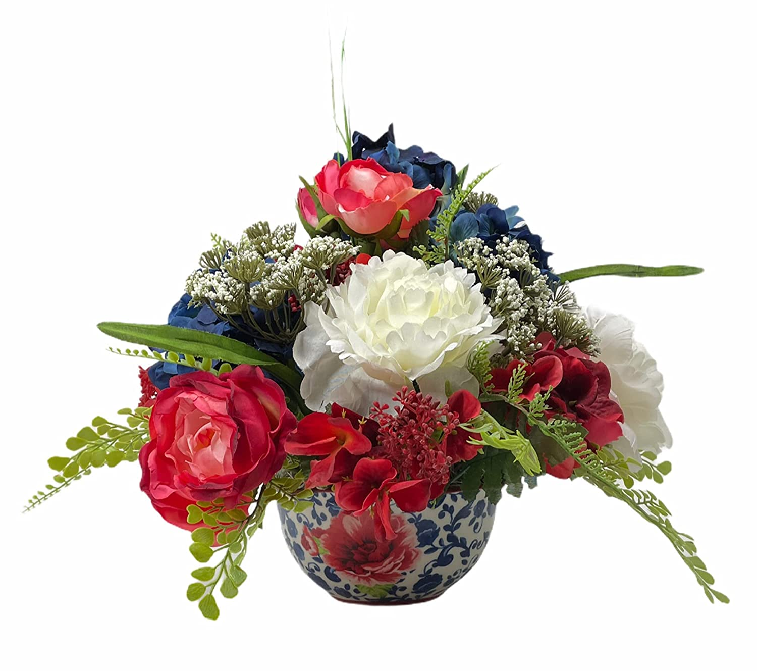 Farmhouse New products, world's highest quality popular! Centerpeice Arrangment Flower Indianapolis Mall