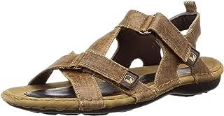 Woodland Men's Gd 0048105wsl_Camel_8 Leather Outdoor Sandals-8 UK (42 EU) (9 US) 0048105WSLCAMEL