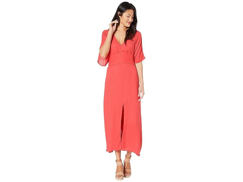 Billabong Forever Fine Dress (Sunset Red) Women