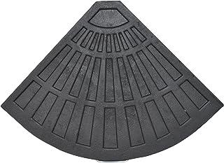 Resin Base Fan Shape L470 X D640 X H42MM 14KGS Patio Umbrella Stand