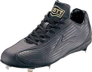 ZETT(ゼット) 野球 埋め込みスパイク ウイニングロード ブラック/ブラック BSR2296