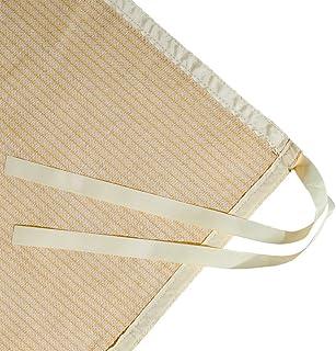 Shatex Shade Panel Block 90% of UV Rays with Ready-tie up Ribbon for Pergola Gazebo Porch 10' x 12', Wheat