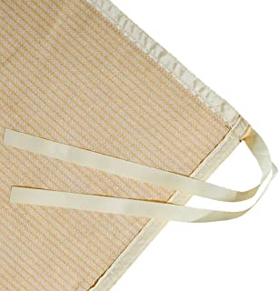 Shatex Shade Panel Block 90% of UV Rays with Ready-tie up Ribbon for Gazebo Porch 8' x 12', Wheat