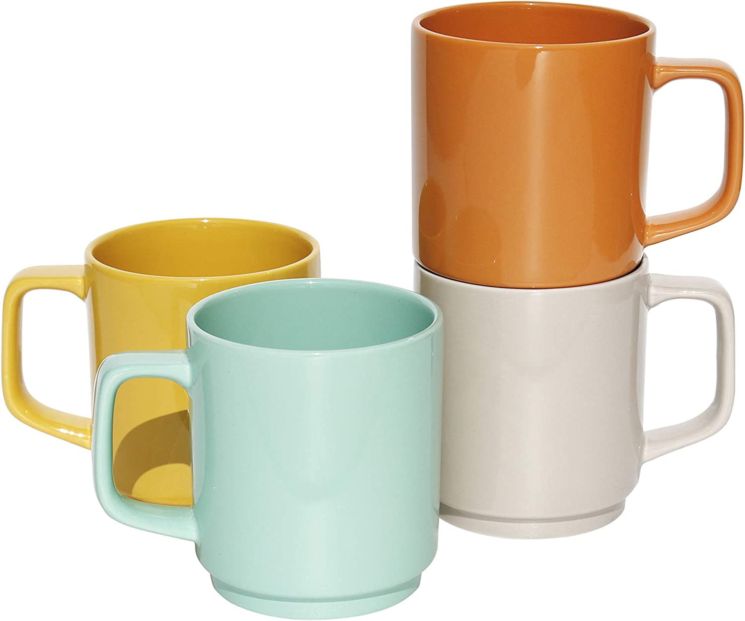 Lovene Aztec Inventory cleanup selling sale Porcelain Mug Cups for Coffee Tea - Juice Cocoa sold out