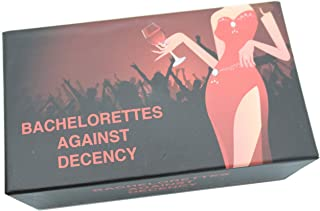 Bachelorettes Against Decency - Bachelorette Party Game - Best Card Game for Wedding
