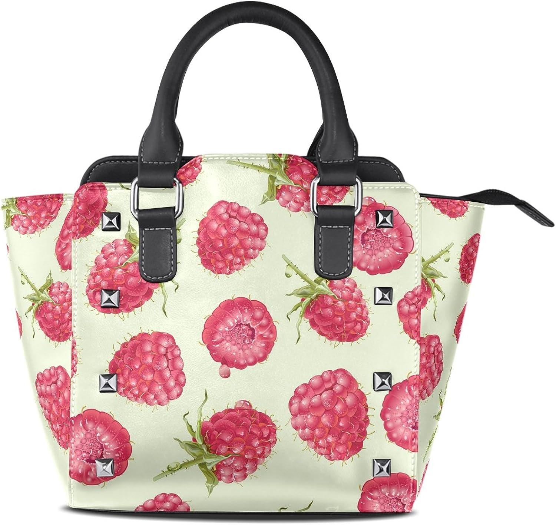 My Little Nest Women's Top Handle Satchel Handbag Mulberry Ladies PU Leather Shoulder Bag Crossbody Bag