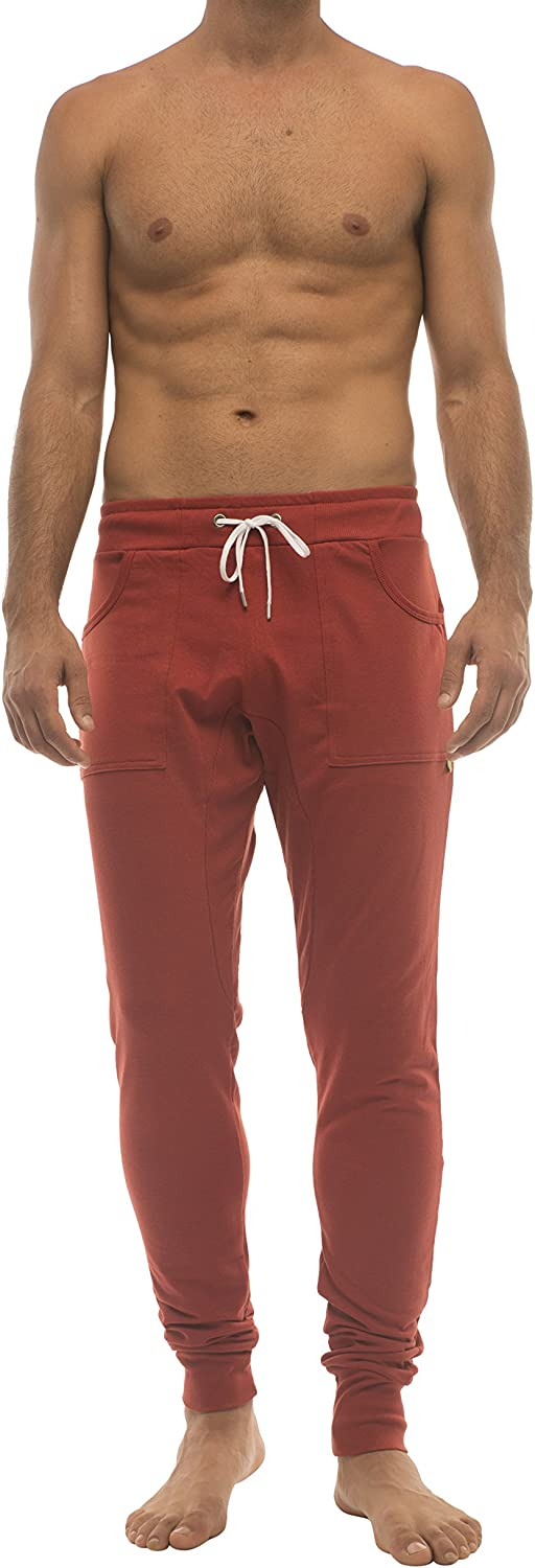 4-rth Sale special price Men's Long Cuffed Yoga Pant Finally popular brand Sweat Jogger