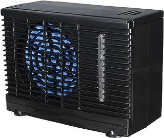 GOZAR 12V Portátil Home Car Refrigerador Refrigeración Ventilador Agua Hielo Aire Acondicionado Evaporativo