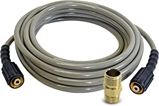 Simpson Cleaning 40226 Morflex Series 3700 PSI Pressure Washer Hose, Cold Water Use, 5/16 Inch by 50 Feet, Natural
