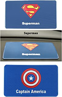 RME Car Accessories mat Cell Phone Superman Non Slip pad Cartoon Dashboard car Slip Sticker car Sticky Anti-Slip Mate(Design May varry According to avalability) 74