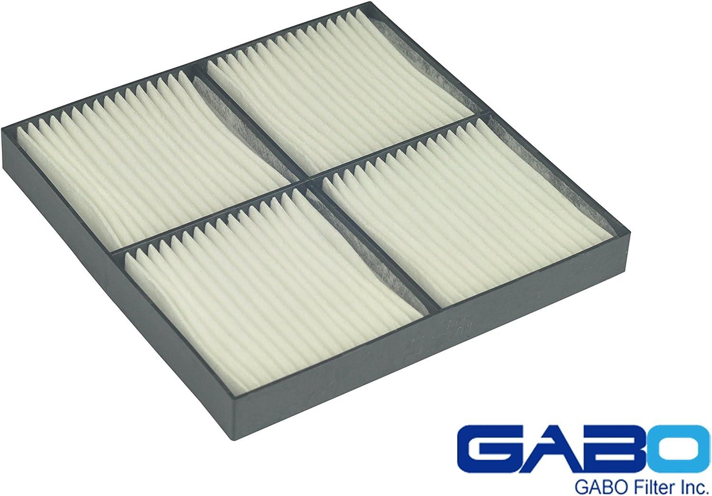 Gabo Filters Cheap SALE Start supreme D-NC02B for NEC NC-80AF02 Plastic NC2000C Frame