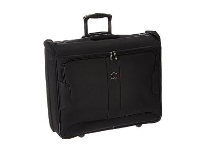 Delsey Sky Max 2-Wheeled Garment Bag (Black) Luggage