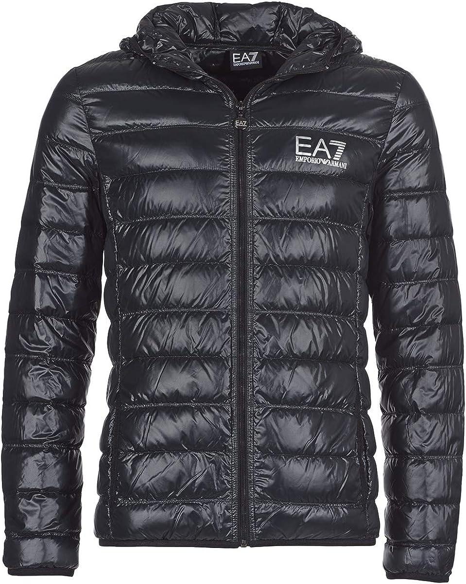 Emporio Armani Men's Train Core Down Hooded Jacket