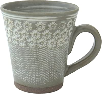 京焼 清水焼 関窯 マグカップ 三島とびかんな D15-6