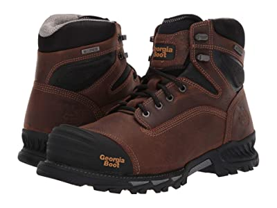 Georgia Boot Rumbler 6 Composite Toe (Brown) Men