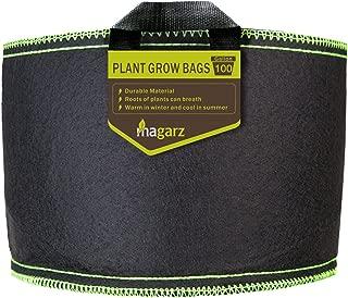 Magarz Fabric Flower Pots Garden Felt Grow Bags with Handle (100 Gallon)