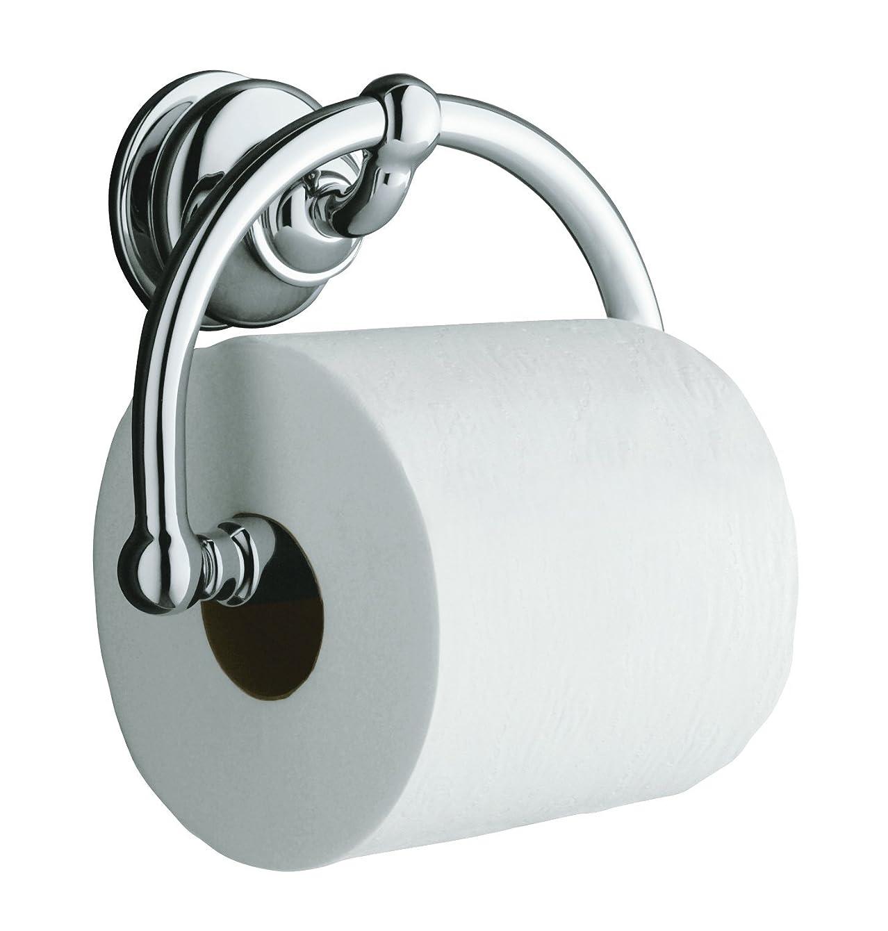 KOHLER K-12157-CP Fairfax Toilet Tissue Holder, Polished Chrome
