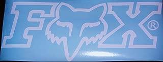 Fox Racing Logo Car/Wall Decal