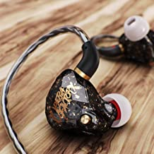 in Ear Headphones Earbuds, OperaFactory OS1 Over Ear Buds Gaming Earbuds IEM 3.5mm Stereo in Ear Earphone Premium Bass Noise Isolating with Mic Microphone for Running Sports Workout …