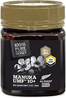 Pure New Zealand Manuka Honey - UMF 10+ Certified - 8.8 oz- All Blacks Official Licensed Honey