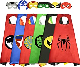 Easony Cool Cartoon Super Hero Capes for Kids - Best Gifts