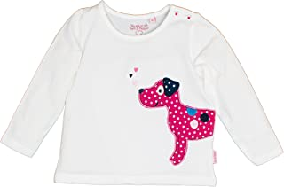 Salt /& Pepper B Longsleeve Mon AMIE Dogs Camiseta de Manga Larga Beb/é-para Ni/ñas