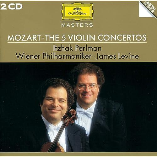 Mozart: Violin Concerto No. 4 in D Major, K. 218 - 1. Allegro - Cadenza: Itzhak Perlman