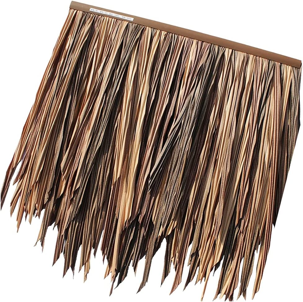 Artificial Thatch Tile Tampa Mall Fake Straw PVC PE That Plastic Low price