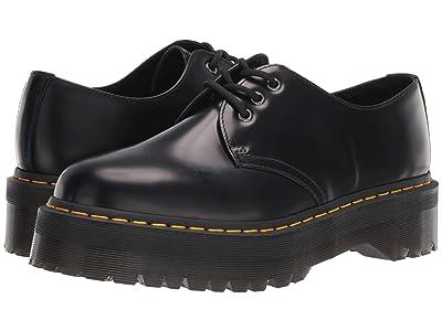 Dr. Martens 1461 Quad Platform (Black) Shoes
