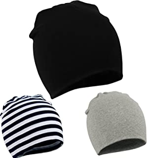 Zando Toddler Infant Baby Cotton Soft Cute Knit Kids Hat Beanies Cap